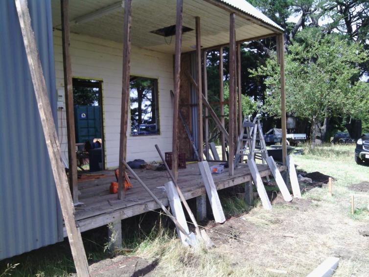 Cottage demolition