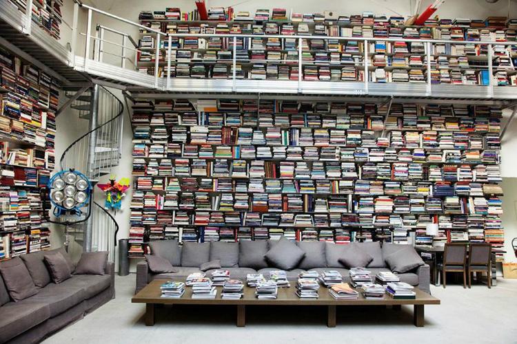 bookshelf porn largerfeld