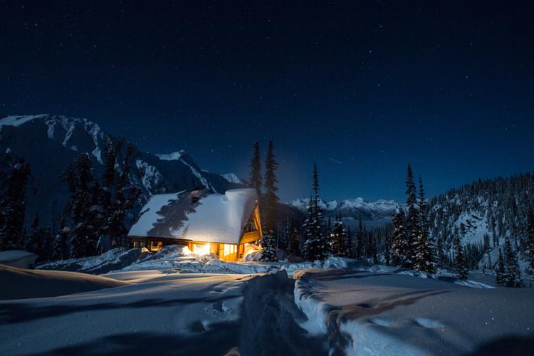 cabin porn Bill Putham Lodge BC by Seth Ayates
