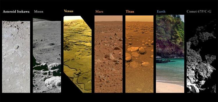 NASA interplanetary landings journal
