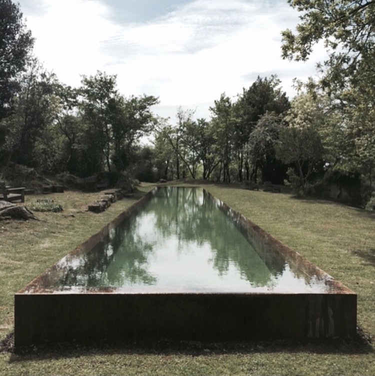 OMA bordeaux pool by @ludovicgillion