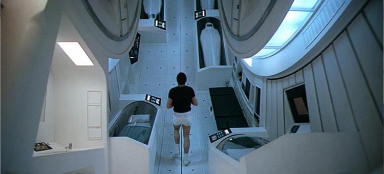 Stanley Kubrick's 2001: A Space Odyssey (1968) Spaceship Interior