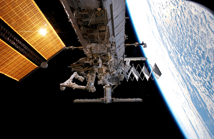 ISS Truss S3 & S4 by NASA
