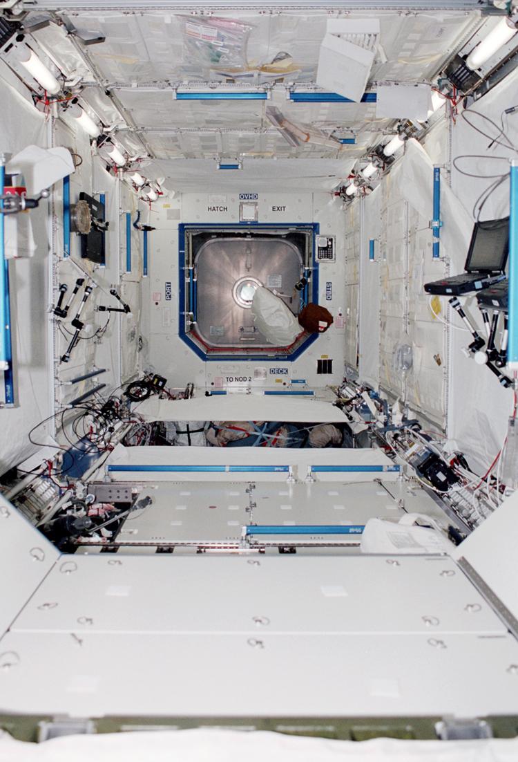 ISS Destiny Module Interior by NASA