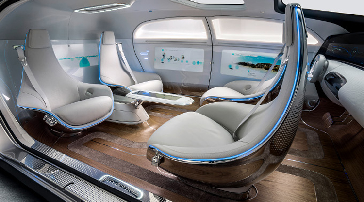 Mercedes-Benz F015 – Luxury in Motion