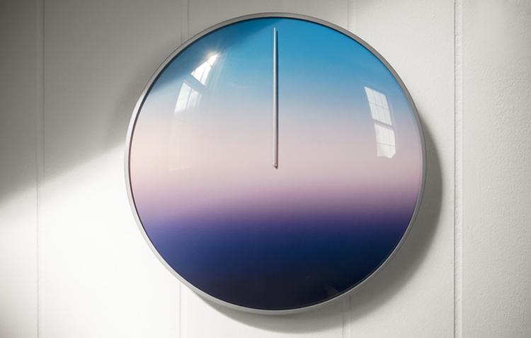 'Today' 24hr clock by Scott Thrift